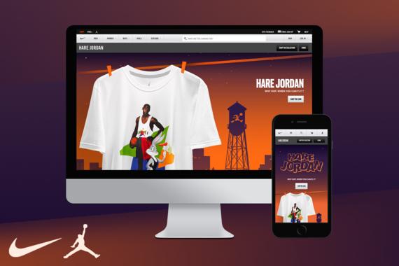 Nike Hare Jordan