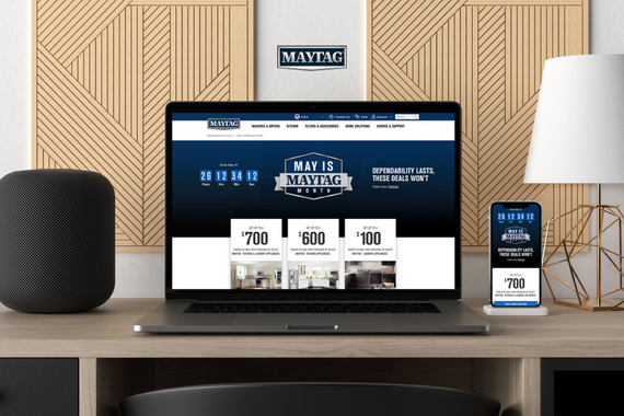 May is Maytag Month Web Experience