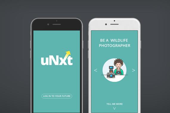 uNXT | Mobile Web App