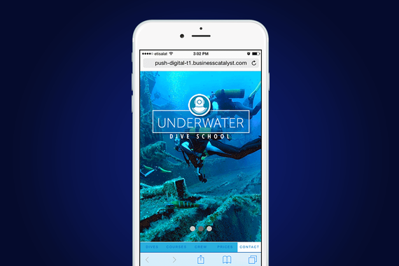 Underwater Dive School | Diving Website