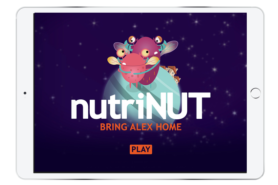 NutriNUT | iPad Game