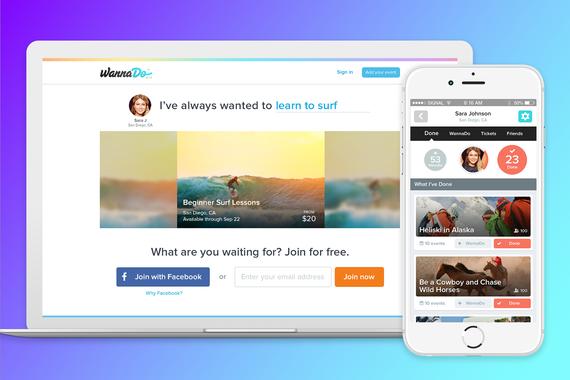 WannaDo - Marketplace Events/Bucket List App