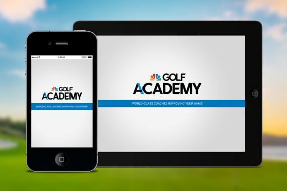 Visual Design | Golf Academy Mobile Training App
