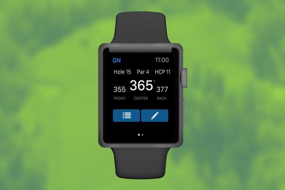 UX/Visual Design | GolfNow Apple Watch Scoring App
