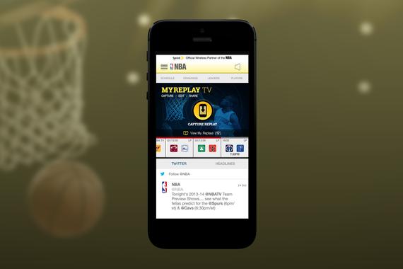 Visual Design | NBA MyReplays Mobile App
