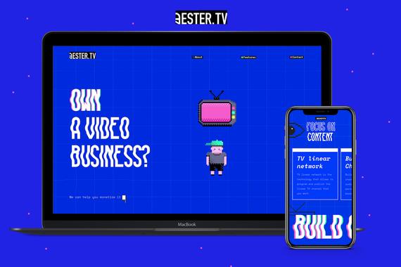 Ester TV Website