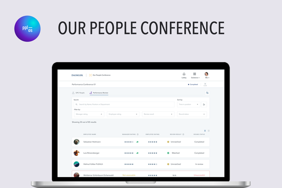 PPLOS - Our People Conference - Employee Management Platform