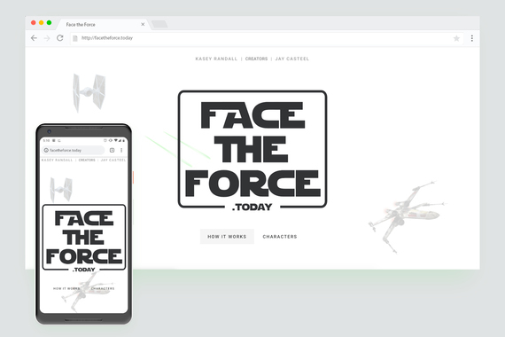 Face the Force • Web Site Service