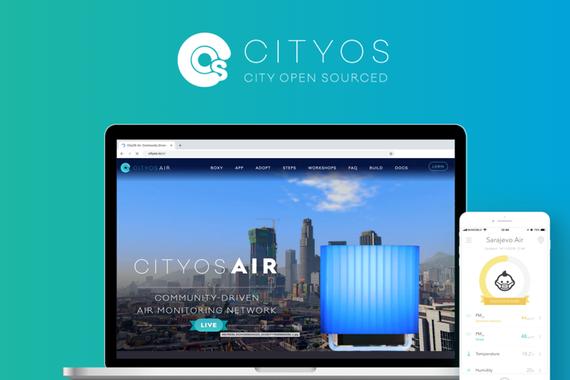 CityOS Air - Community Driven Air Monitoring Network