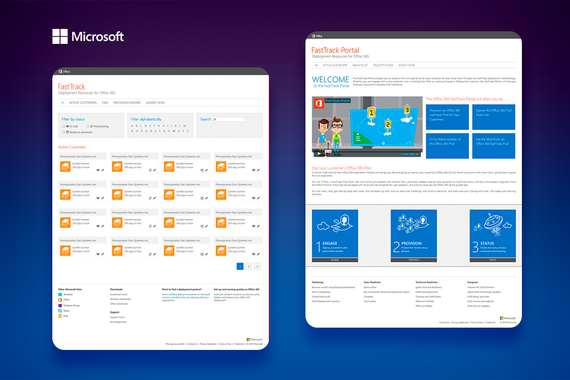Microsoft FastTrack Sales Portal
