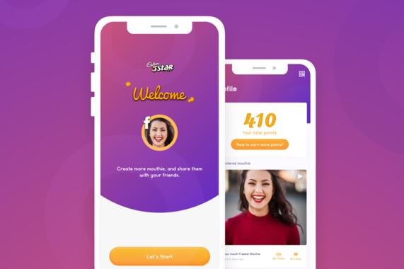 5Star Cadbury | Campaign App Design