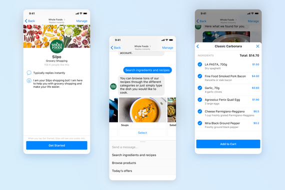 Chat-bot for Grocery Shopping