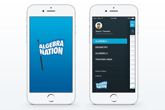 Algebra Nation Mobile App