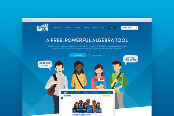 Algebra Nation Website