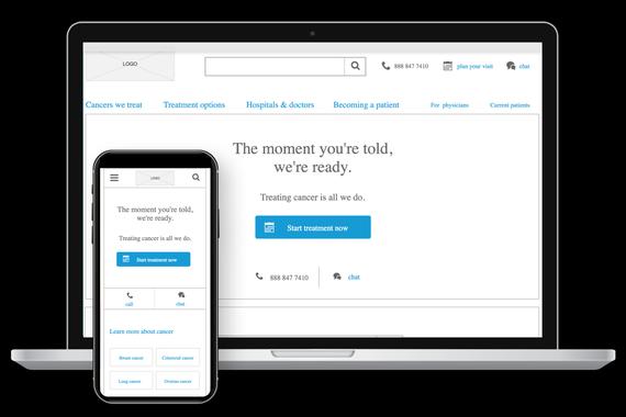 CTCA Website Redesign