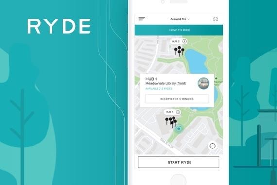 Ryde | Transport Sharing App