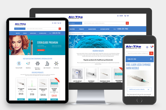 Air-Tite Products eCommerce Website