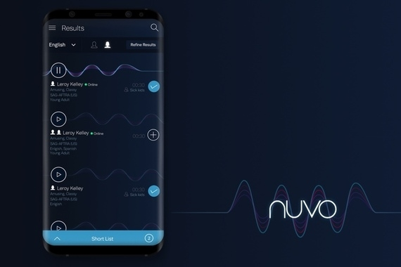 NUVO | Find the Perfect Voice
