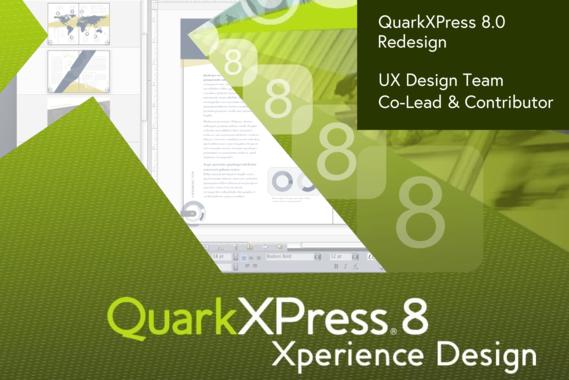 QuarkXPress 8.0 UI Redesign