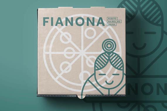 Fianona Pizzeria Rebranding