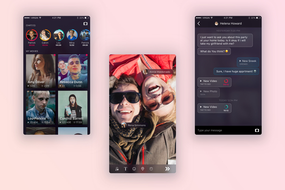 SneekPeek – Social Media Platform