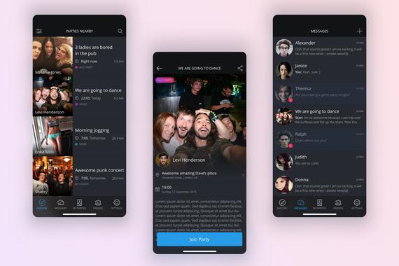 Wilder – Social Media Platform