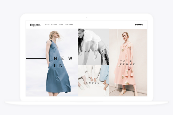 eCommerce Website and iOS App for Femme