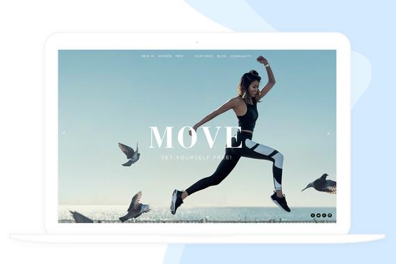 iOS App for a Sportswear Company