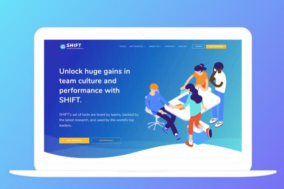 SaaS Web App Development for SHIFT