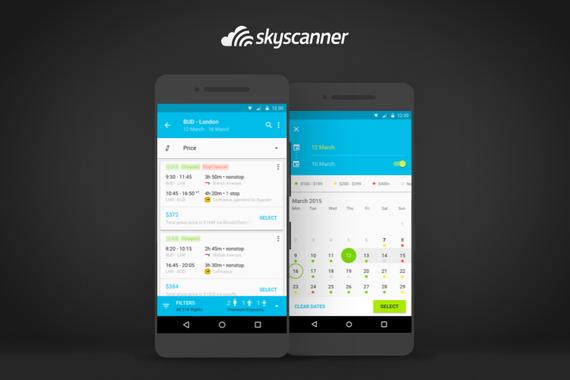 Award-winning Android App for Skyscanner