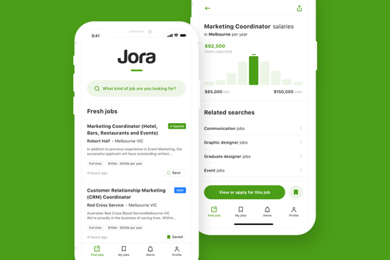 Job Search App Redesign