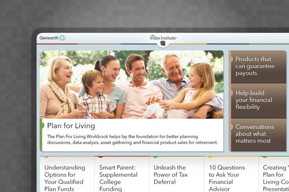 Genworth iOS App, Website, and Branding