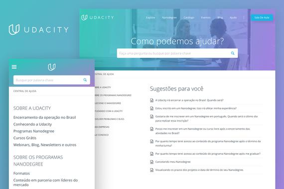 Udacity Brazil Help Center