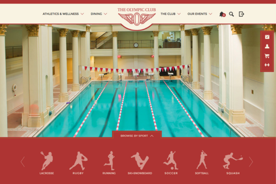 Olympic Club - Designing 150 Years of Athletic History