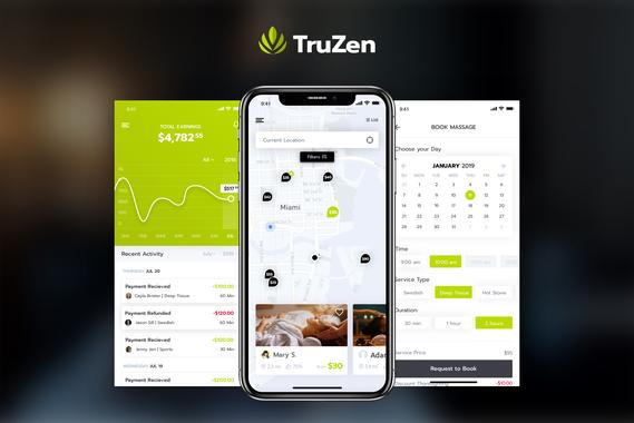 TruZen | Mobile and Web App