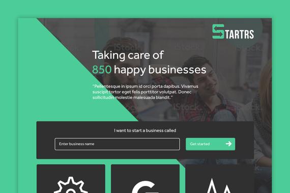 Startrs Responsive Startup Website