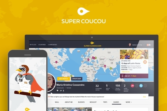 SuperCoucou Travel Platform and Mobile App