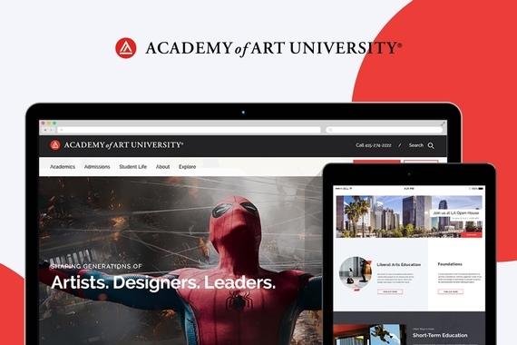 Academy of Art University - Website Redesign