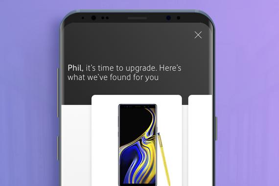 Vodafone App Upgrade Journey