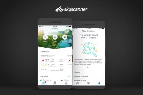 Redesigning Skyscanner's iOS App for Engagement