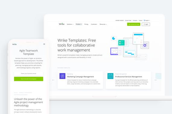 Wrike –Collaborative Work Management Platform