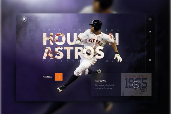 Fantasy Baseball Microsite