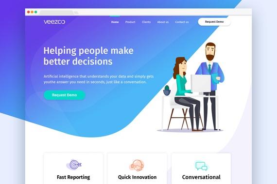 Veezoo | Artificial Intelligence (AI) Website Design