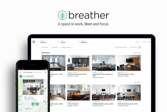 Breather | A Space to Work, Meet and Focus