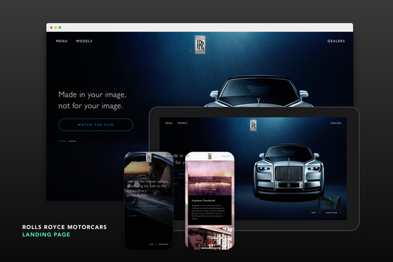 Rolls Royce Motorcars - Website
