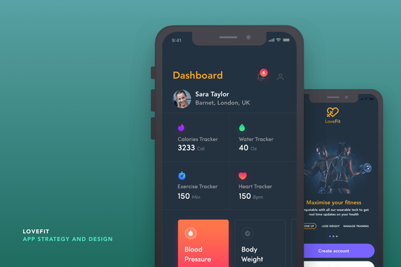 LoveFit App - Data-driven App