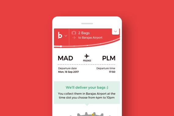 BoB | MVP for a Luggage-transfer Service
