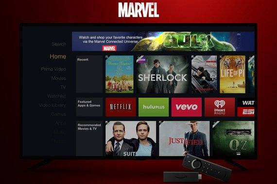 MARVEL Cinematic Universe Fire TV Experience