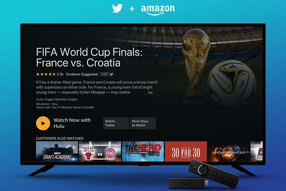 Fire TV: LIVE Sporting Events with Twitter Feeds