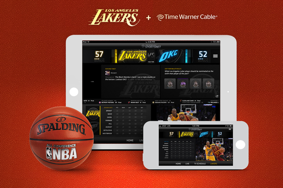 Time Warner Cable SportsNet App (Lakers Second Screen Experience)